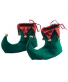 Kerstmis schoenen groen