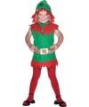 Kerstelfjes outfit voor meiden